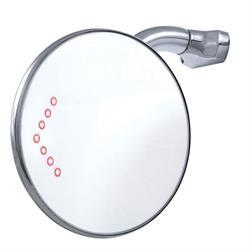 Speedway Universal Rear-View Door Peep Mirror w/ LED Signal, 4 Inch
