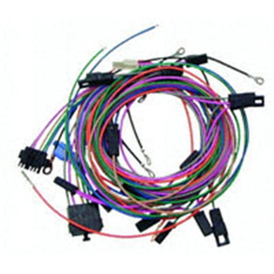 American Autowire 500450 Center Console Gauge Pod Wiring Harness Kit