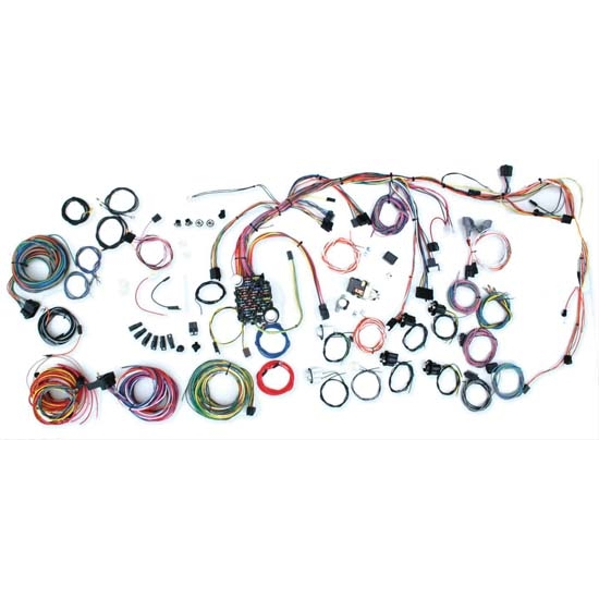 American Autowire 500686 Complete Wiring Harness Kit, 1969 CamaroSpeedway Motors
