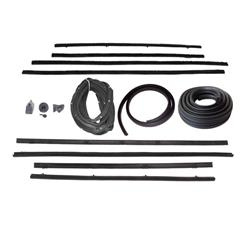 Weather Strip Kit, 1962-63 Chevy II 2 Door Sedan