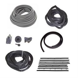 Weather Strip Kit, 1962-64 Chevy II, 4 Door Sedan/Wagon