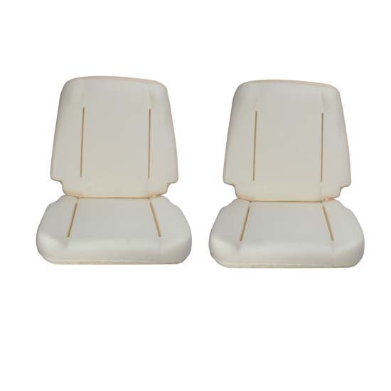 62-65 Nova (Impala and GTO) Seat Foam, Two Seats, Pr