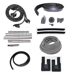 Weather Strip Kit, 1964 Chevy II 2 Door Hardtop