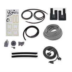 Weather Strip Kit, 1965 Chevy II  2 Door Hardtop