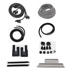 Weather Strip Kit, 1966 Chevy II 2 Door Hardtop