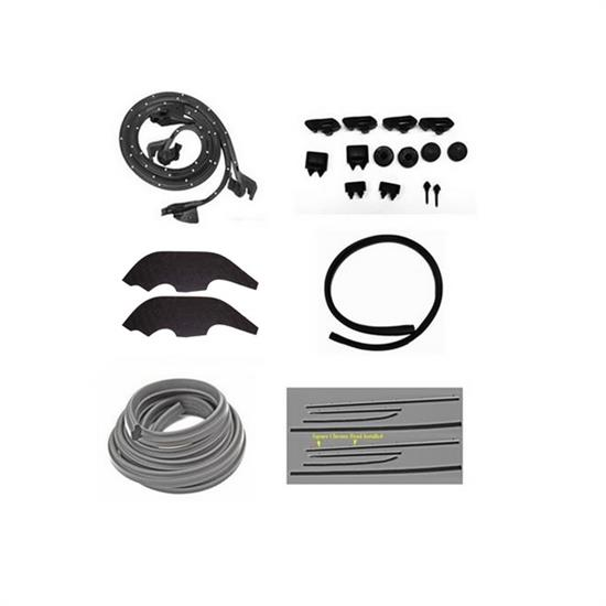 Replacement Weather Strip Kit, 1968 Nova 2 Door