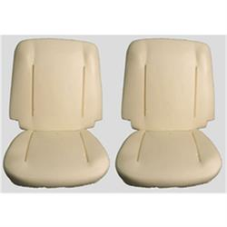Reproduction Seat Foam for Bucket Seats, Nova/Chevelle/Impala, Pair