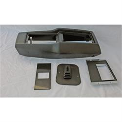 Center Console Kit for Manual Transmission, 1968-74 Nova