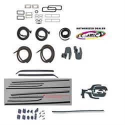 Complete Weather Stripping Kit for 1969 Chevelle 2-Door Hardtop