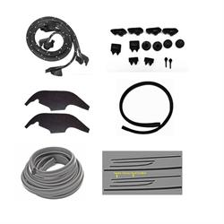 Complete Weather Strip Kit, 1969 Nova