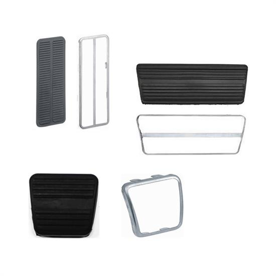 Automatic Transmission Pedal Pad Kit, 1969-81 Camaro, No Disc