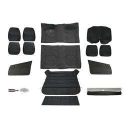 Complete Standard Interior Kit for 1970 Camaro, Black