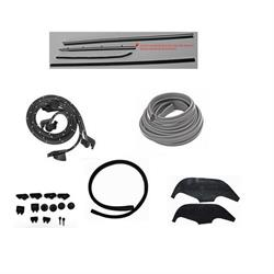 Complete Weather Strip Kit, 1970 Nova 2-Door