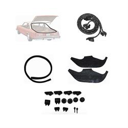 Weather Strip Kit, 1973-74 Nova 2 Door Hatchback