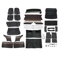 Complete Interior Kit, 69-70 Nova w/AC, Bucket Seats, Woodgrain Panels