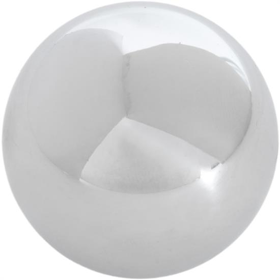 Classic Headquarters W-113A Chrome Shifter Knob, 3/8 Inch Hurst