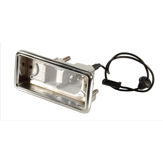 Classic Headquarters W-287 LH Backup Light Housing, 1967-68 Camaro RS