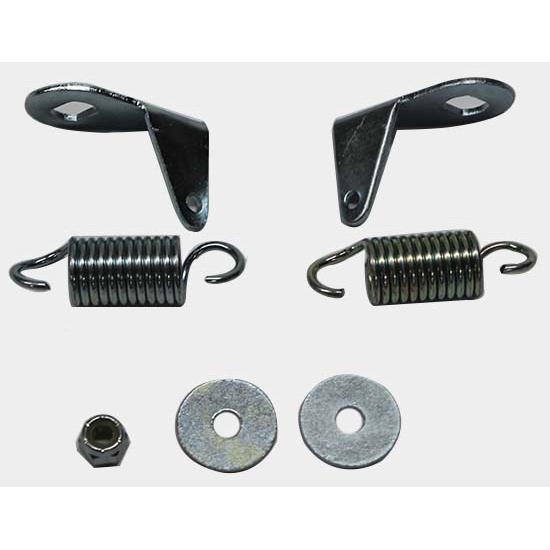 Classic Headquarters W-175C Headlight Bellcrank Bracket/Spring, 68 RS