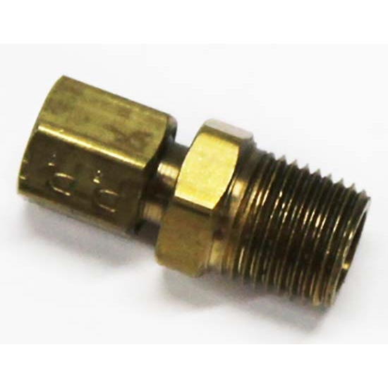 Classic Headquarters W-321 Oil Gauge Line Block Fitting, Camaro/Nova