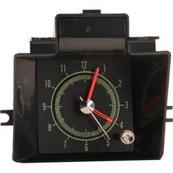 Classic Headquarters W-464 Reproduction In-Dash Clock, 1969 Camaro