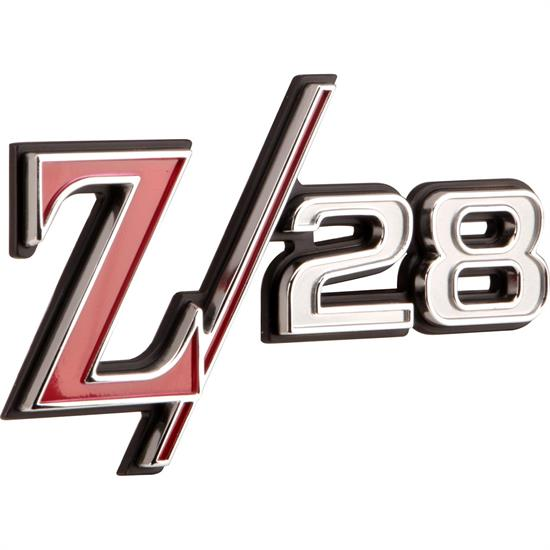 Classic Headquarters W-800 1969 Camaro Reproduction Z/28 Fender Emblem