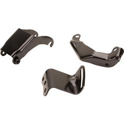 Classic Headquarters W-799 Power Steering Pump Brackets, 69-72 GM S/B
