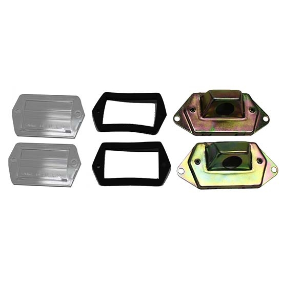 Classic Headquarters W-016 License Plate Lamp Kit for 1970-73 Camaro