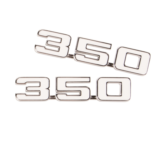 Classic Headquarters W-356 350 Fender Emblems, 69 Camaro/70-74 Nova