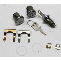 Classic Auto Locks CL-142 Ignition/Door Locks, 62-64 Nova/64 Chevelle
