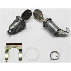 Classic Auto Locks CL-164 Glove Box/Trunk Lock w/Key, 1962-65 Nova