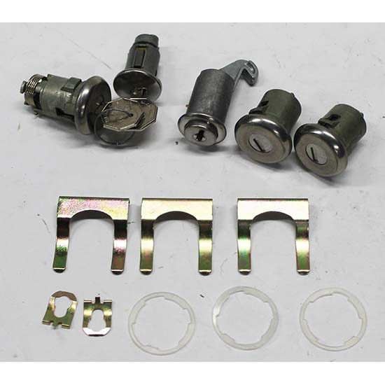 Classic Auto Locks CL-292 Complete Lock Kit for 1965 Chevelle