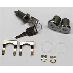 Classic Auto Locks CL-104 Ignition/Door Lock Set w/Key, 1966-72 GM