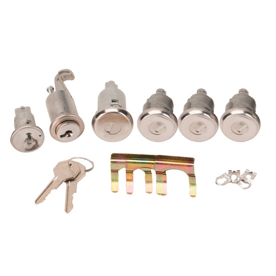 Classic Auto Locks CL-295 Complete Lock Kit for 1962-65 Nova