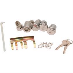 Classic Auto Locks CL-296 Glove Box/Trunk/Door Locks, 1962-65 Nova