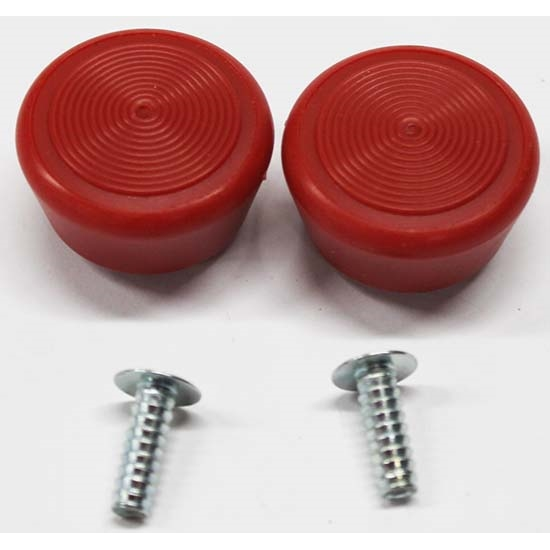 Classic Auto Locks CL-30 Window Crank Knob Kit, Red
