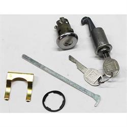 Classic Auto Locks CL-121 Glove Box/Trunk Lock w/Key, F-Body/X-Body