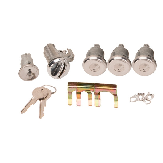 Classic Auto Locks CL-336 Complete Lock Kit for 1968 Nova/Chevelle