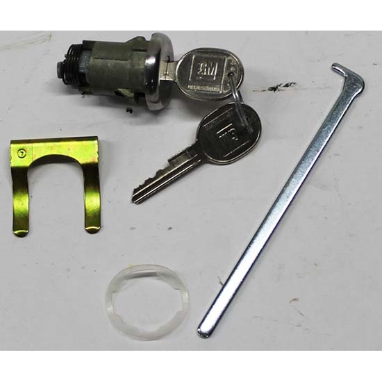 Classic Auto Locks CL-113 Trunk Lock w/Key, Camaro/Firebird/Chevelle