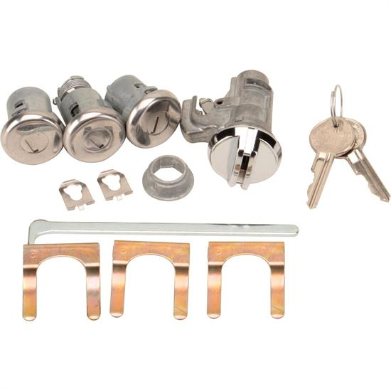 Classic Auto Locks CL-155A Lock Kit with Key for Nova/Chevelle