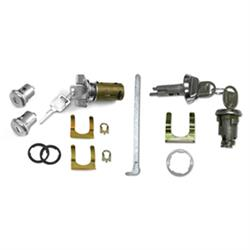 Classic Auto Locks CL-337 Complete Door Lock Kit for Nova/Chevelle