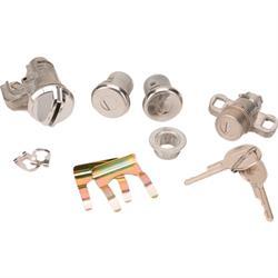 Classic Auto Locks CL-263 Glove Box/Trunk/Door Locks, 70 Camaro, Short