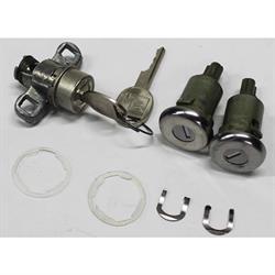 Classic Auto Locks CL-137 Door/Trunk Lock Set w/Key for 1970-73 Camaro