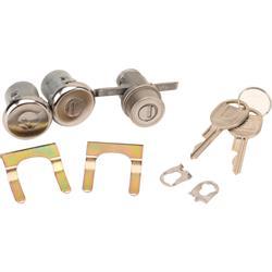 Classic Auto Locks CL-185 Door/Trunk Lock Set w/Key for 1970-73 Camaro