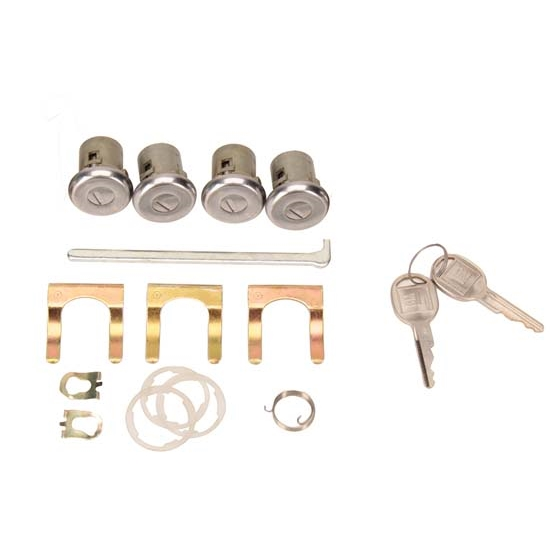 Classic Auto Locks Door and Trunk Lock with Key, 1970-73 Camaro