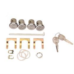 Classic Auto Locks Door and Trunk Lock with Key, 1970-73 Camaro