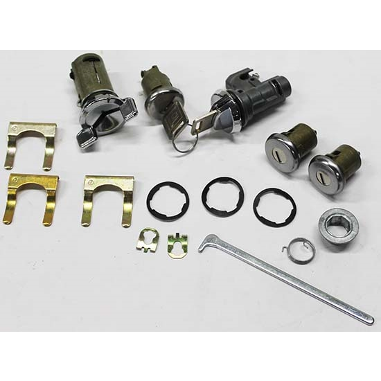 Classic Auto Locks CL-338 Complete Lock Kit for 1970-77 Chevelle