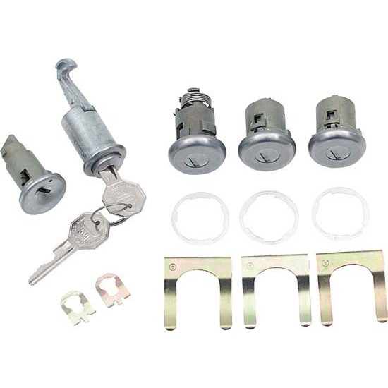 Classic Auto Locks CL-253 Door/Trunk Lock Kit, 1978 Camaro