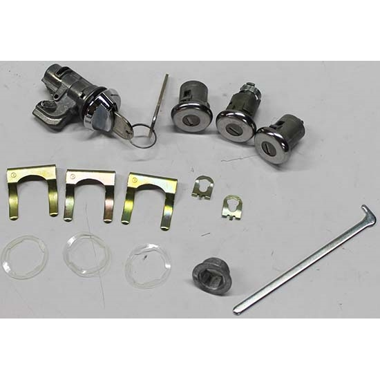 Classic Auto Locks CL-156 Trunk/Door Lock Kit for Firebird/Chevelle