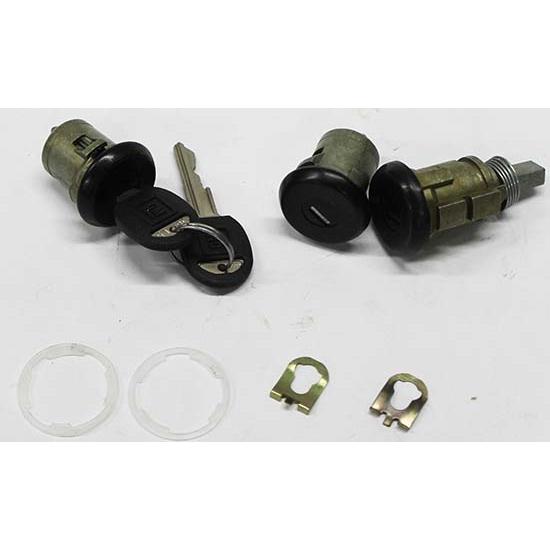 1986-1992 Camaro Door /& Trunk Lock Kit Later Key 441