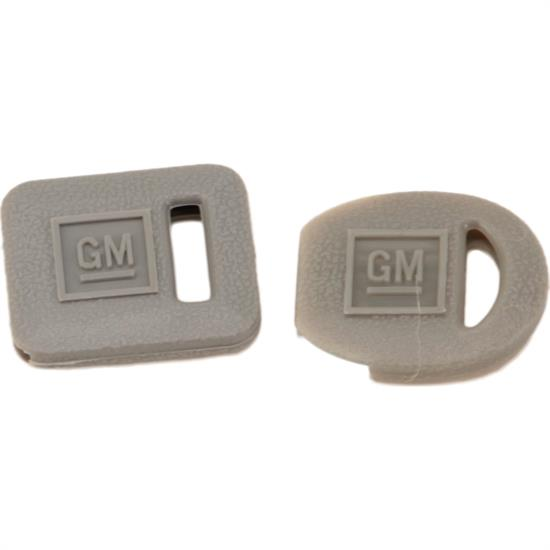 Classic Auto Locks CL-239 GM Plastic Key Cover Set, Square & Oval, Gray